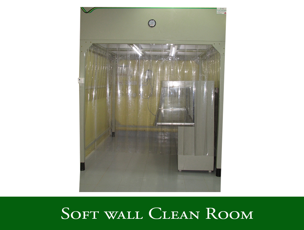 Softwall Clean Room
